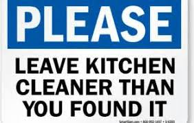 keep kitchen clean keep kitchen clean signs for office decorbold keep office clean