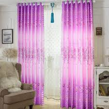 Cool Curtains Pink Apple Trees Modern Style Customize Ready Made Cool Curtains