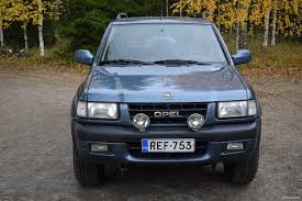 opel frontera 1995 opel frontera 2 2 16dti ltd 5d 4x4 1999 used vehicle nettiauto