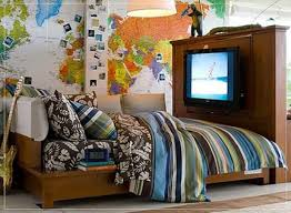 Travel Themed Home Decor by Decoration Cool Boys Rooms Threads For Awesome And Teen Room