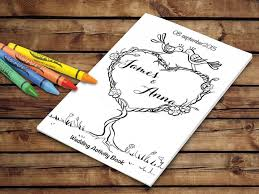 kids wedding activity book printable wedding printable coloring