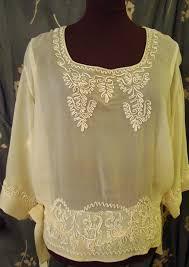 vintage blouse a vintage blouse embellished with soutache braid threads