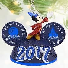 sorcerer mickey mouse light up ear hat ornament walt disney
