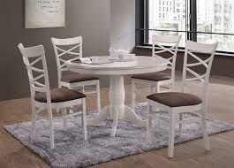 table ronde et chaises table et chaise blanche meuble table a manger maisonjoffrois