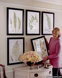 How To Arrange Pictures On A Wall by Photo Projects On Display Martha Stewart