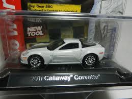 corvette on top gear 1 64 auto licensed premium 2a white 2011 callaway corvette