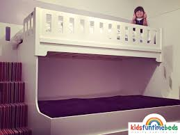 Three Sleeper Bunk Bed Three Sleeper Bunk Bed Luxury Carved Solid Wood Triple Bunk Bed