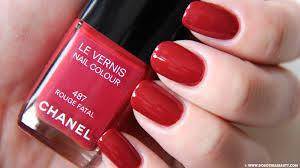 chanel nail polish rouge fatal u2013 dorothea beauty