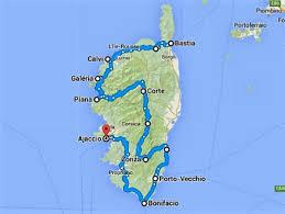 Corsica Map Preparation Roadtrip Corsica Frenchydutchy