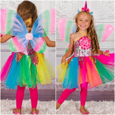 Halloween Unicorn Girls Unicorn Fairy Halloween Costume Mia Belle Baby