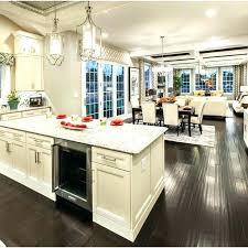 open floor kitchen designs open dining room and kitchen designs kitchen and dining room ideas