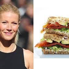 gwyneth paltrow recettes de cuisine gwyneth paltrow sa recette revisitée du sandwich pour l été