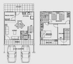 two storey house floor plan surprising 150 sqm 2 storey house plan gallery image design