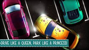 white girly cars parking princess driving android apps on google play