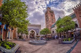 Map Of Epcot World Showcase Morocco In Epcot At Walt Disney World Burnsland Photography And