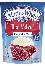 red velvet cupcake martha white