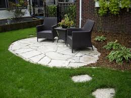 Small Patio Designs On A by Stone Patio Ideas On A Budget