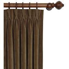 French Pleat Curtain Pinch Pleated Drapes U0026 Curtains Wayfair