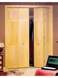 Pine Bifold Closet Doors Custom Size Bifold Closet Doors Swineflumaps