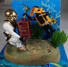 aquarium decoration undersea tug of war fish tank ornament