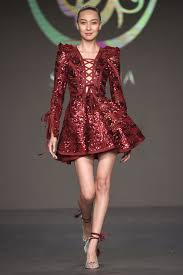 Brandname News Collections Fashion Shows by Glamorous Sequinned U0026 Velvet Dresses Interview With Soltana