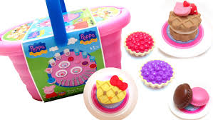kids picnic basket peppa pig picnic basket and hello pastry shop review