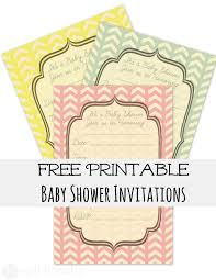 best 10 free baby shower printables invitations for your