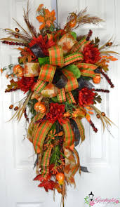 Halloween Wreath Ideas by 1126 Best Fall Deco Mesh Wreaths Images On Pinterest Fall Deco