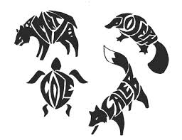 24 best blue wolf tribal tattoos for men sketches images on