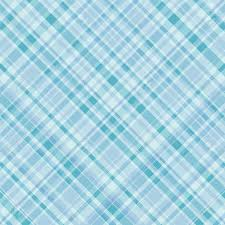 plaid pattern background in shade of turquoise blue stock photo