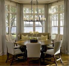 Kitchen Round Table by Best 25 Settee Dining Ideas On Pinterest Cozy Dining Rooms