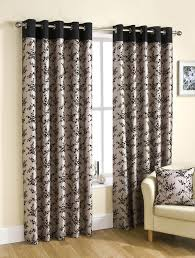 Black Floral Curtains Eyelet Curtains Images