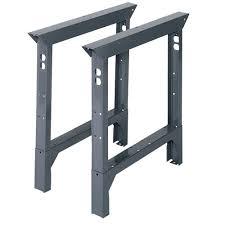 edsal 33 in h x 2 in w x 36 in d steel adjustable height work