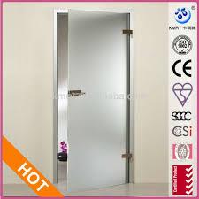 Metal Glass Door by Interior Swing Glass Door Custom Size Stainless Steel Hardware