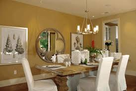 dining room wall art ideas dining table chair covers round