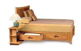 Circle Furniture Berkeley Storage Bed Solid Wood Bed Cherry - Berkeley bedroom furniture
