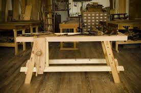 Traditional Workbench Woodworking Plan Free Download by Free Workbench Plans For The Moravian Workbench Wood And Shop