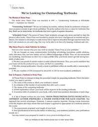 Best Resume Book by How To Propose A Book Vision Press Books