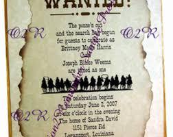 Invitations For Weddings Cowboy Birthday Etsy