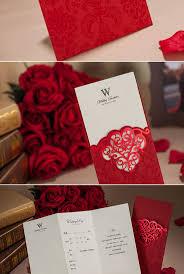Red Invitation Cards The 38 Best Images About Decoracion Bodas En Rojo On Pinterest
