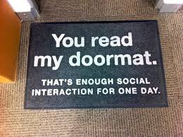 20 hilarious and creative doormats u2013 pleated jeans