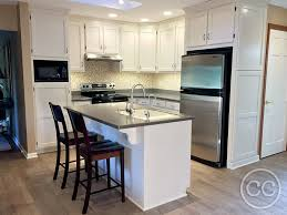 painting cherry kitchen cabinets white classic cupboards paint 35 cherry cabinets look