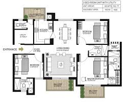 gurgaon one 84 floor plan