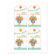 hanging gift tags happy thanksgiving mckinsey printables
