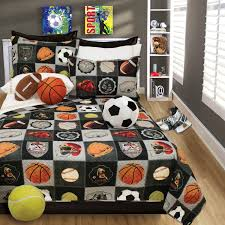 Sports Themed Comforters Bedroom Sports Comforter Set Hockey Bedding Boys Soccer Bedding
