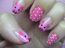 cute pigs nail art tutorial