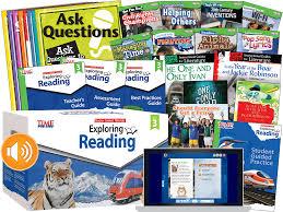 exploring reading teacher created materials