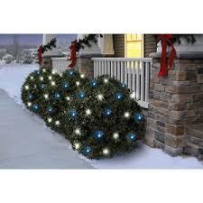 twinkle light christmas tree walmart holiday time 70 count twinkle led net christmas lights cool white