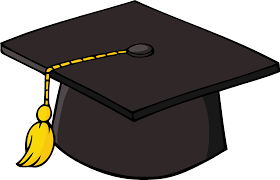 caps for graduation graduation hat graduation cap transparent clipart clipartix