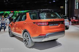 orange range rover svr 2017 land rover discovery presented in paris as the brand u0027s u201cmost